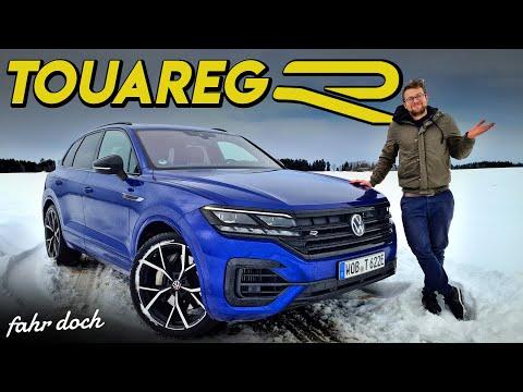 Das ist doch kein R? VW Touareg R E-HYBRID 2021 | REVIEW und FAHRBERICHT | Fahr doch