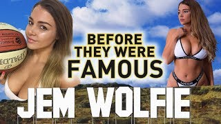 Gambar cover JEM WOLFIE - Before They Were Famous - Instagram Star / Fitness Model
