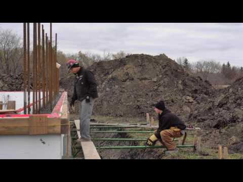 Building Your ICF Home - Concrete