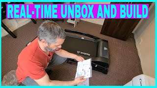 Reebok GT40s treadmill. unboxing and assembly.