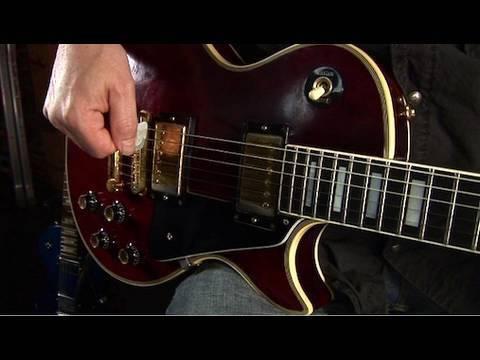 Pick Scrape Guitar Lesson - Electric Guitar Lesson - Guitar Tricks 52