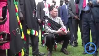 Lonyang'apuo leads West Pokot elders in installing Israel Ambassador
