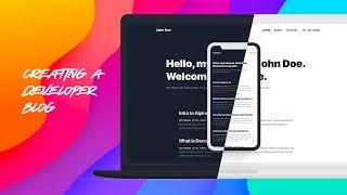 Creating a Developer Blog