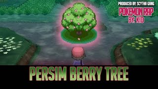 Pokemon Rap | 'Persim Berry Tree' w/ Lyrics | Prod. By ScythaGang