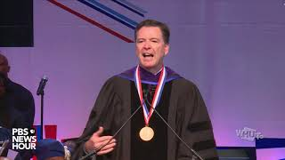 WATCH: Former FBI Director James Comey delivers Convocation address at Howard University