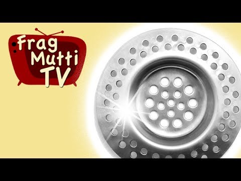 Abflusssieb effektiv reinigen - Frag Mutti TV