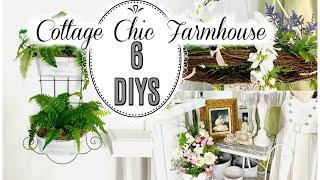 🌿6 DIY DOLLAR TREE ~Cottage Chic Farmhouse~ DECOR CRAFTS🌿Olivias Romantic Home DIY