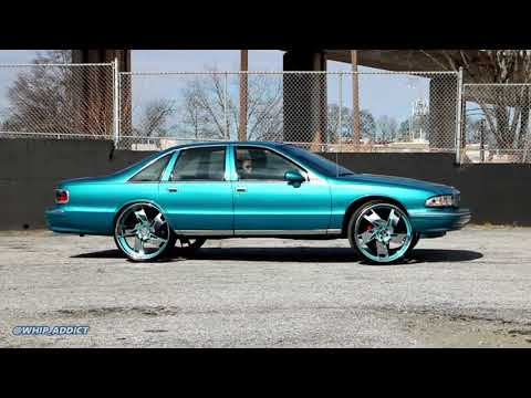 WhipAddict: Teal 93' Chevrolet Caprice on DUB 26s, Before And After Color