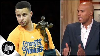 Don't forget Steph Curry won two MVPs before Kevin Durant got there - Richard Jefferson   The Jump