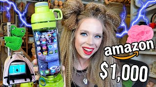 15 Weird & Unbelievable Amazon Stationery Gadgets Tested! ✏️ (Spent $1,000 School Supplies!) by GRAV3YARDGIRL