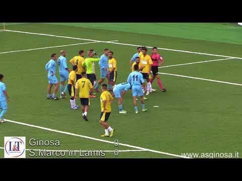 Preview video GINOSA-SAN MARCO IN LAMIS 0-1 Solo la sfortuna e un´arbitraggio disastroso poteva fermare il Ginosa