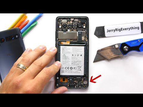 Taking apart that one phone… we already forgot existed?