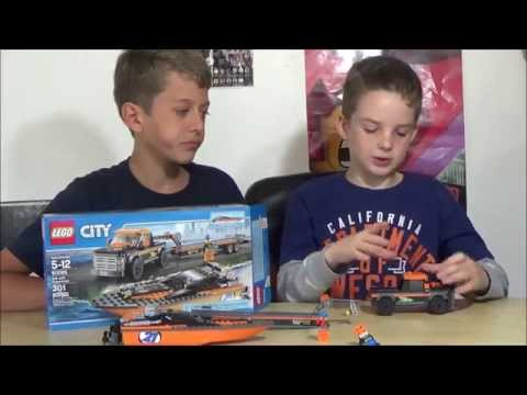 Lego 4×4 With Powerboat Review