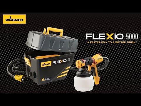 Flexio 5000 Latex Paint Sprayer Wagner Spraytech
