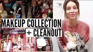 Makeup Collection + Cleanout