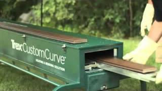 TREX CustomCurve - Deck Parts Bending - Glenbrook U