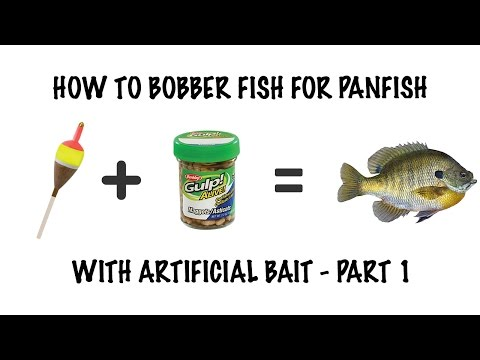 How to: Bobber Panfish Fishing Part 1