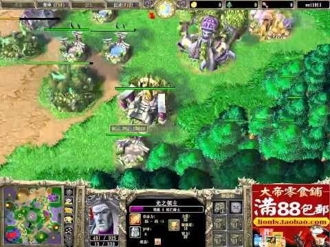 【DK X 大帝】魔兽争霸大帝2v2 超级繁殖 拆不完的生命之树