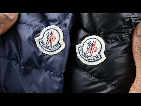 Real vs Replica Moncler HOW TO SPOT A FAKE MONCLER JACKET