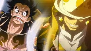 One Piece Film Gold  Gild Tesoro VS Luffy GEAR FOURTH ENG SUB   Epic Scene
