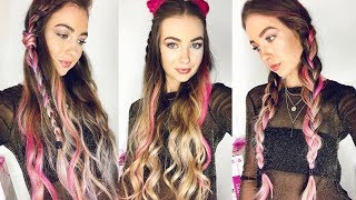 3 BOHO FESTIVAL HAIRSTYLES 2017 X LOreal Colorista