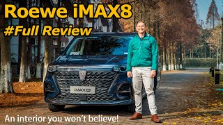 The Roewe iMAX8 is a Big MPV with a Wild Center Console (Complete with Tea Set)