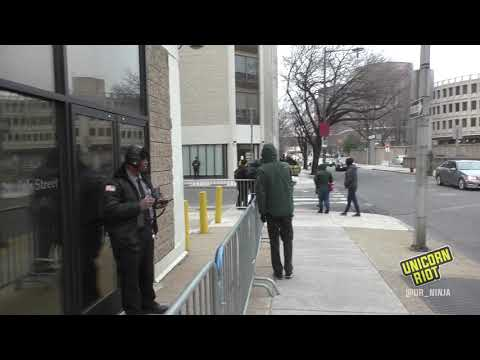 Noise Demo at Philly ICE Office