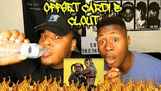 Offset   Clout Feat. Cardi B REACTION