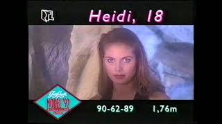 1992: Der Erste TV-Auftritt Von Heidi Klum!