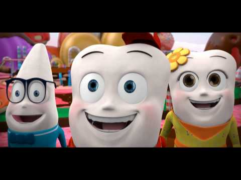 Film animasi pendek 3d gigi dan kuman 01