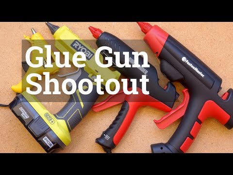 Workshop glue guns compared
