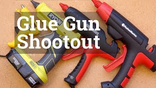 Workshop Glue Guns Compared