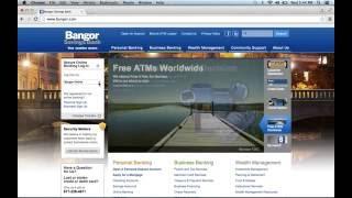 Bangor Savings Bank Online Banking Login Instructions