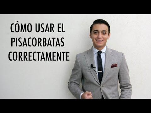 Cómo usar correctamente el pisacorbatas | Humberto Gutiérrez