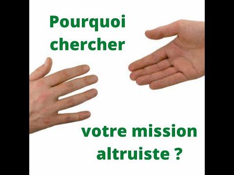 La mission altruiste