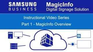 Samsung MagicInfo Overview