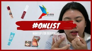 #ONLIST Makeup For Beginners! 💄