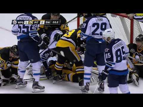 Winnipeg Jets vs Pittsburgh Penguins - February 16, 2017 | Game Highlights | NHL 2016/17