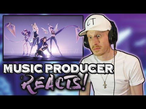 Music Producer Reacts to K/DA - POP/STARS (ft Madison Beer, (G)I-DLE, Jaira Burns)
