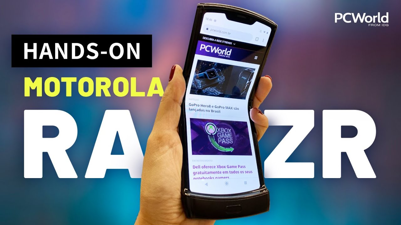 Motorola Razr | Testamos o celular mais sentimental de 2019