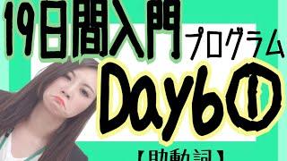 【英文法】19日間入門プログラムDay6①/③【助動詞】[#50]