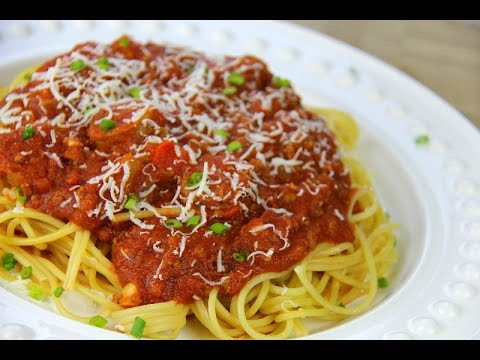 Italian Meat Sauce Recipe (Pasta Sauce | Sunday Sauce | Red Sauce) – Chris De La Rosa