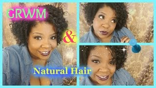 4C Natural Hair 2 Stand Flat Twist Out GRWM STYLE!!.