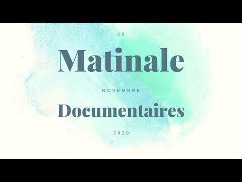 Matinale Doc 2020 - Fred