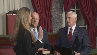 Kelly Loeffler sworn in as new Georgia Senator at US Senate