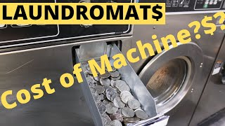 Cost Of Buying Laundromat Machines!$! | Following Keenan !