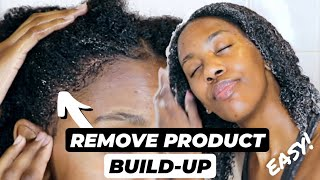 WASH DAY TO REMOVE PRODUCT BUILDUP - ONE EASY STEP!! | NATURAL HAIR