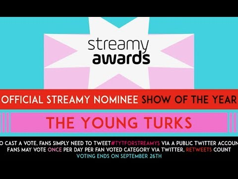 Help TYT To Win A Streamy Award!