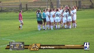 Argos Girls Soccer vs Warsaw