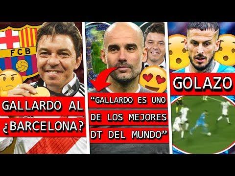 GALLARDO se va al ¿BARCELONA? + GUARDIOLA halaga al MUÑECO y la BOMBONERA + GOLAZO de BENEDETTO 😮